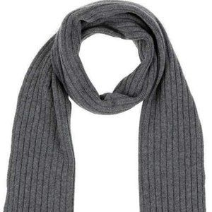 Drumohr Oblong Men's 100% Cashmere Scarve Gray